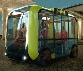 microbús del futuro