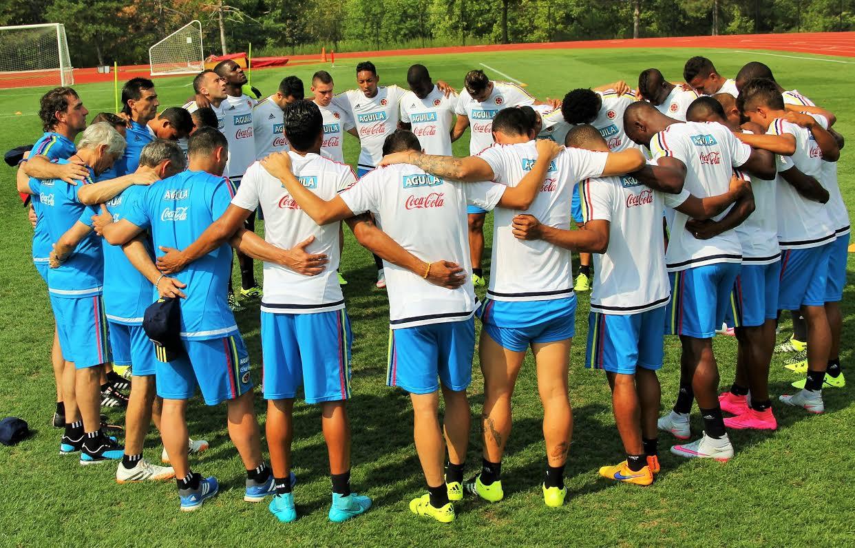 Colombia se prepara en New Jersey 2
