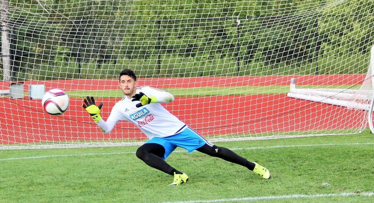Colombia  se prepara en New Jersey 6