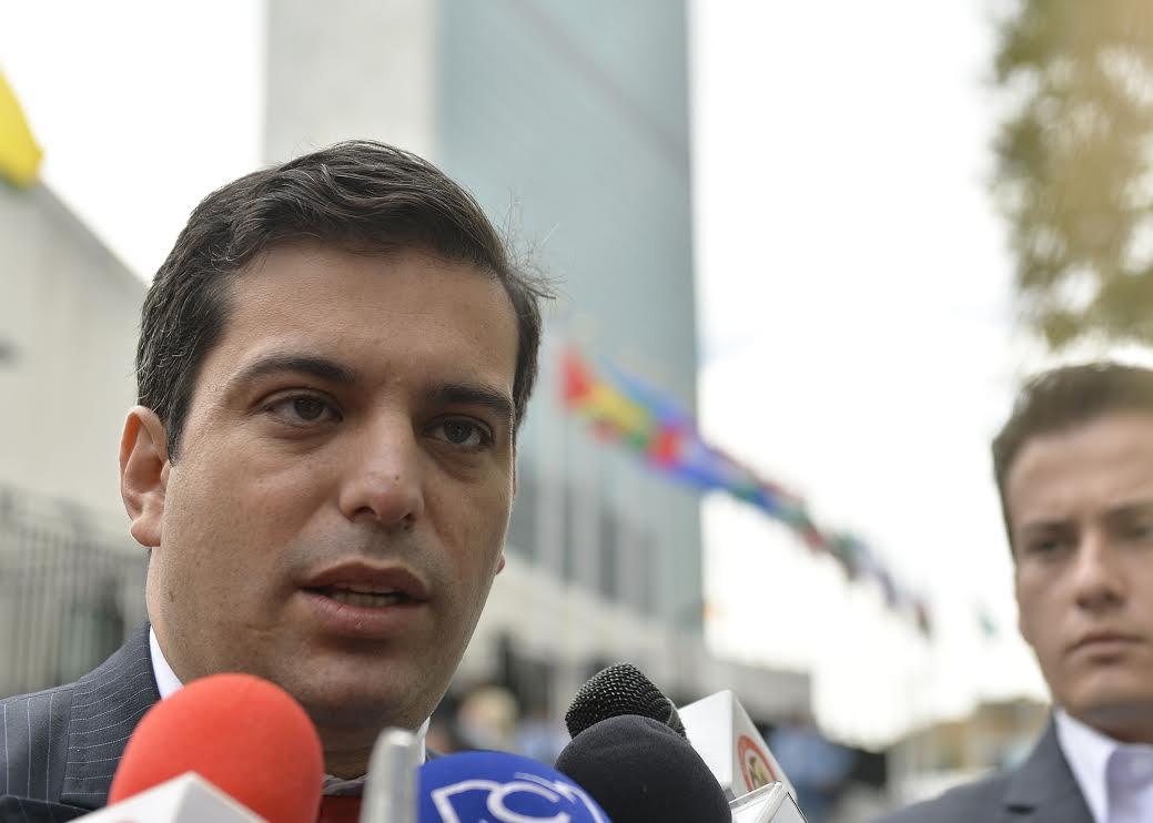 Director del Departamento Nacional de Planeación, Simón Gaviria