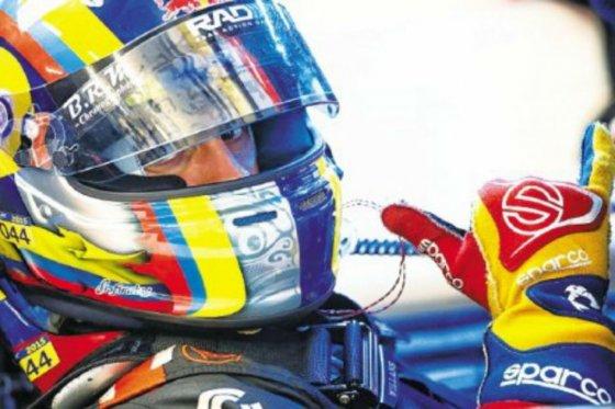 Gustavo Yacamán, piloto del equipo G-Drive Racing, de la categoría LMP2. / Prensa Gustavo Yacamán