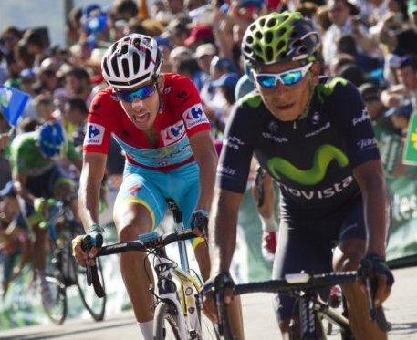 Nairo Quintana se mantiene noveno tras la etapa 15 de La Vuelta.B
