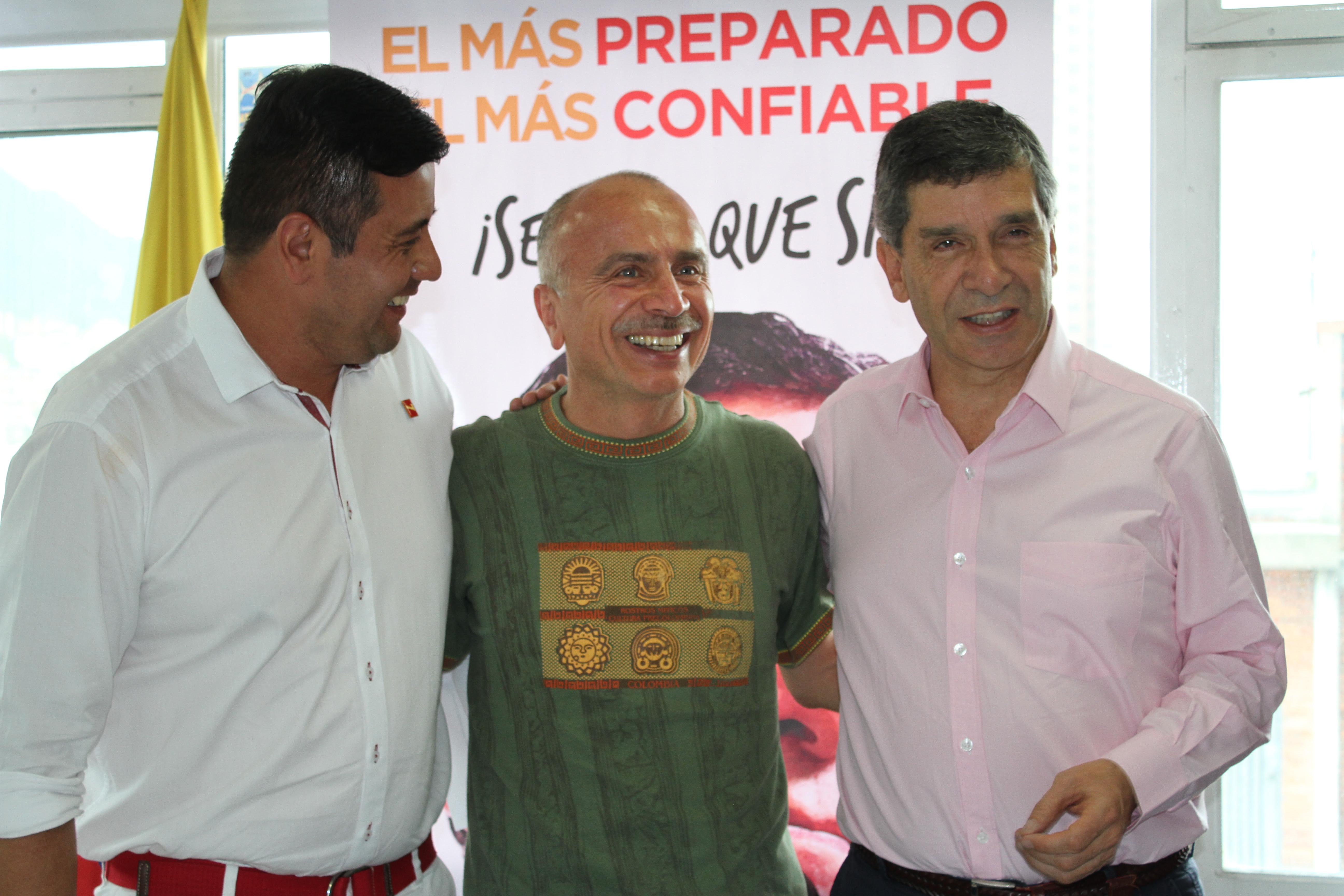 Pardo garantizará formalización laboral y empleo decente en Bogotá