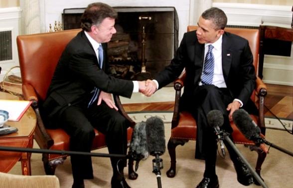 Santos -Obama