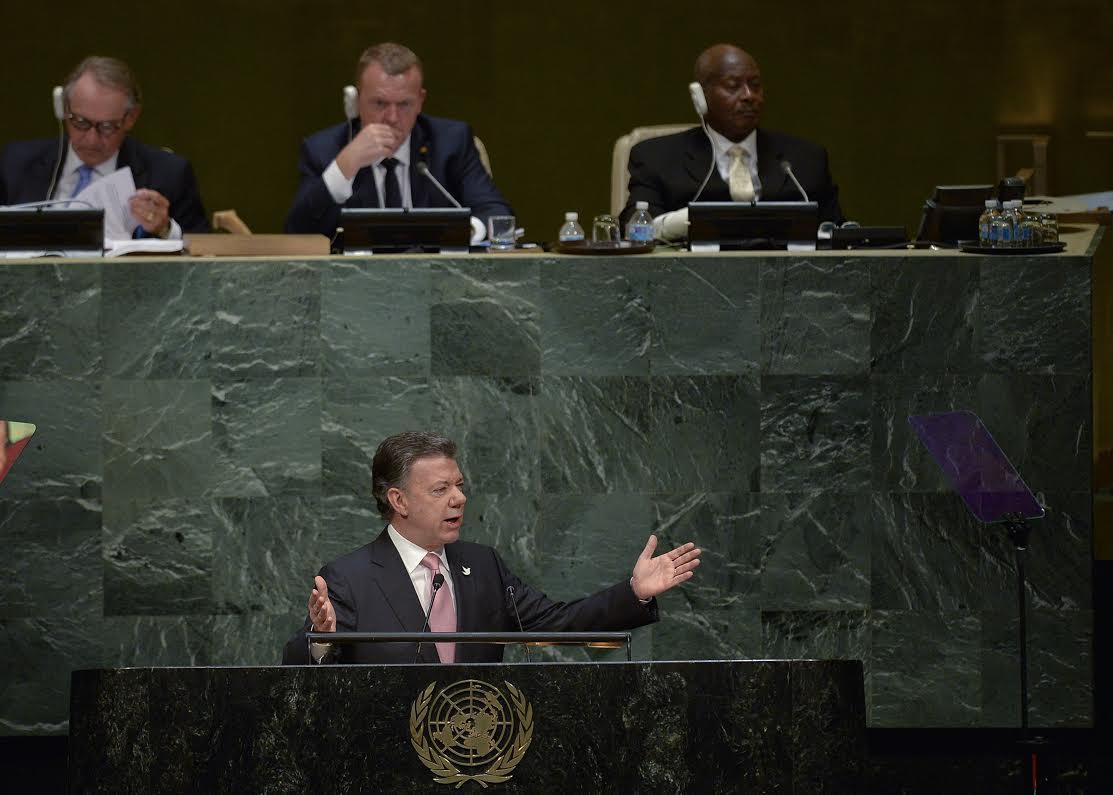Santos en la ONU 250915 B