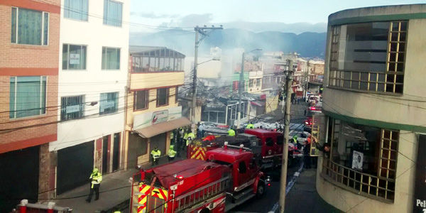 Accidente de Avioneta al Norte de Bogotà 2