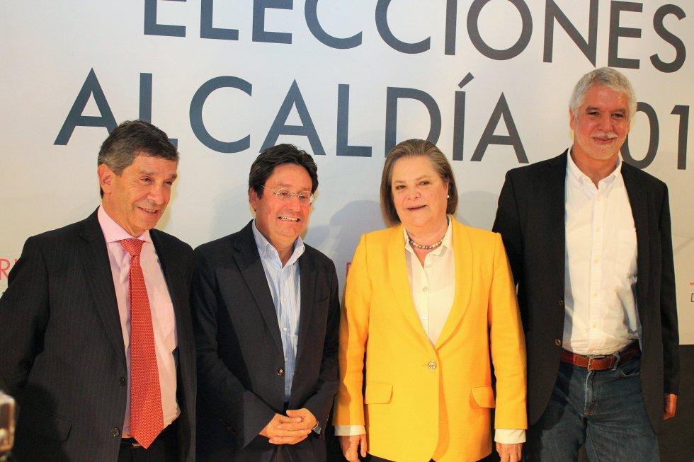 Candidatos a la Alcaldia de Bogotà