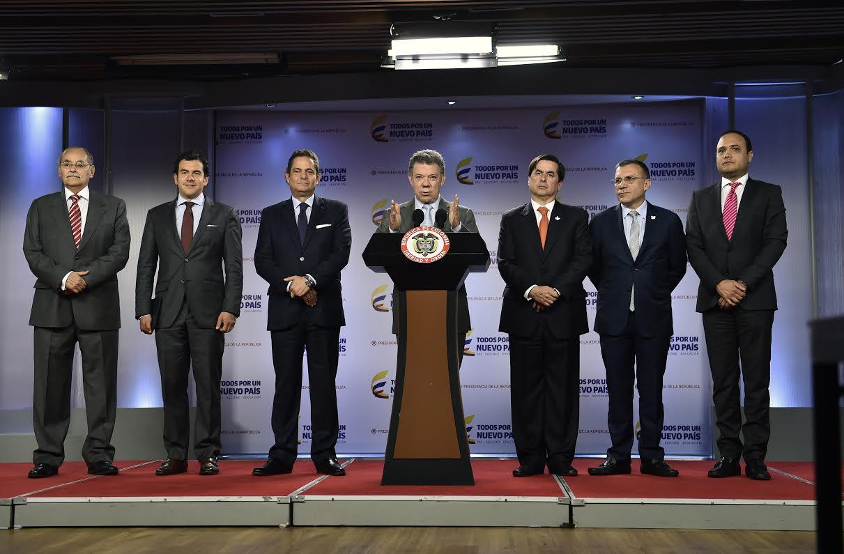 Declaración del Presidente Santos sobre el asesinato de 11 soldados y un patrullero por parte del ELN.