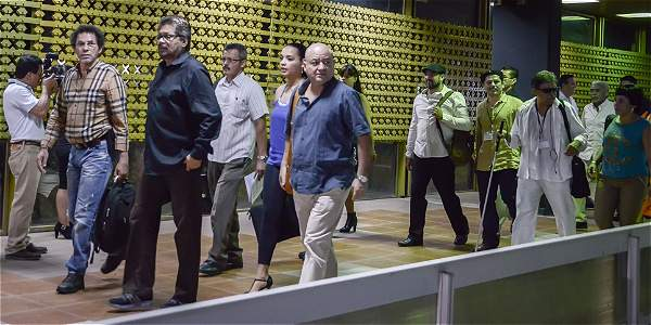 Delegaciòn de las FARC 031015