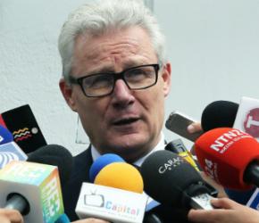 Jefe de la delegación del CICR, Christoph Harnisch