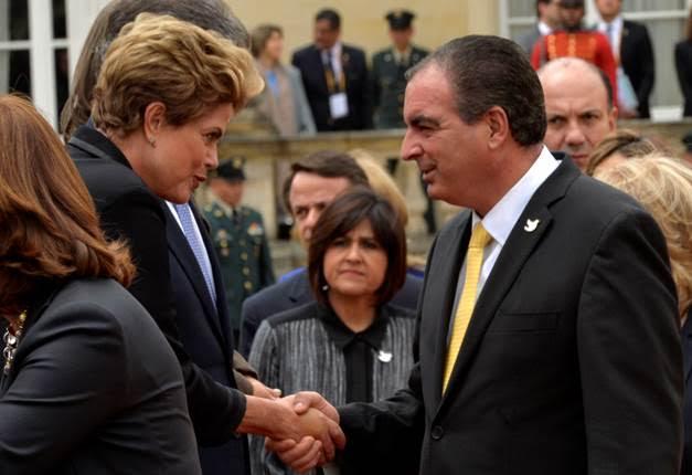 Presidenta del Brasil y Minagricultura