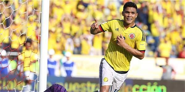 Primer Gol Teo Gutierrez En la Eliminatoria