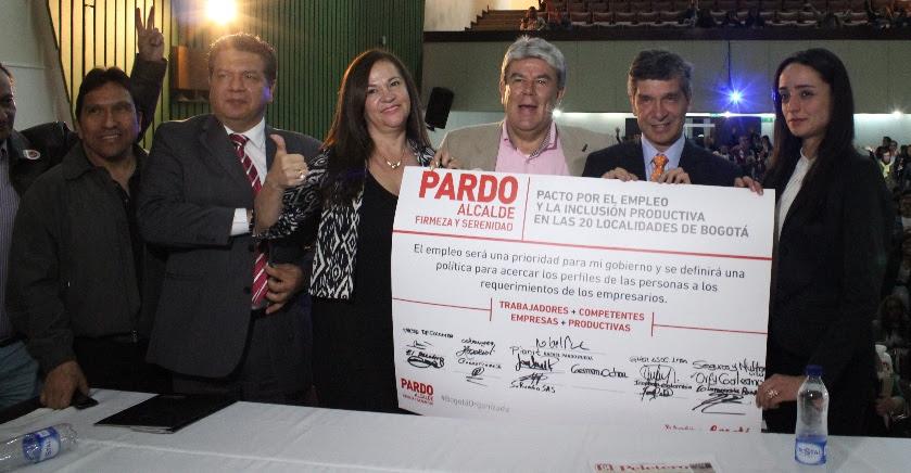 Rafael Pardo anuncia creación del Programa Distrital Del Primer Empleo