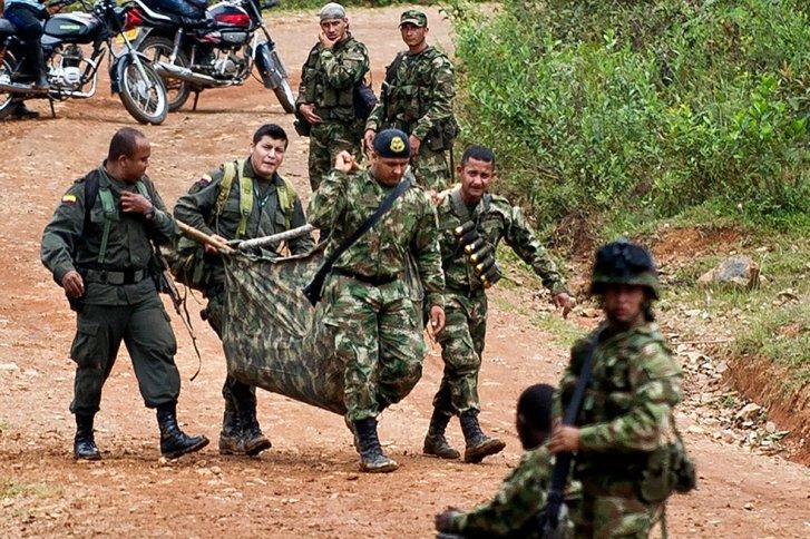 Rescate de soldados Muertos