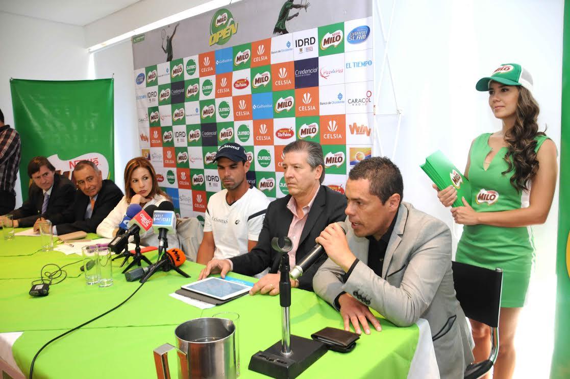 Rueda de Prensa MILO OPEN 2015A