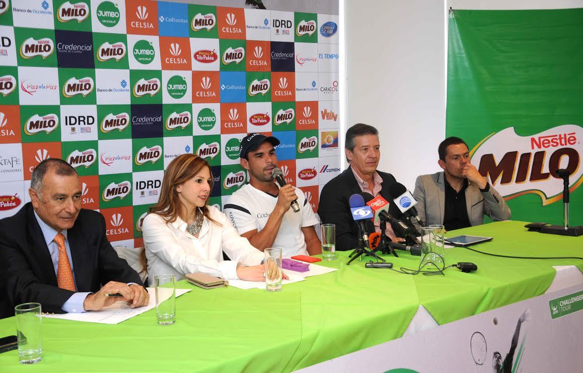 Rueda de Prensa MILO OPEN 2015D