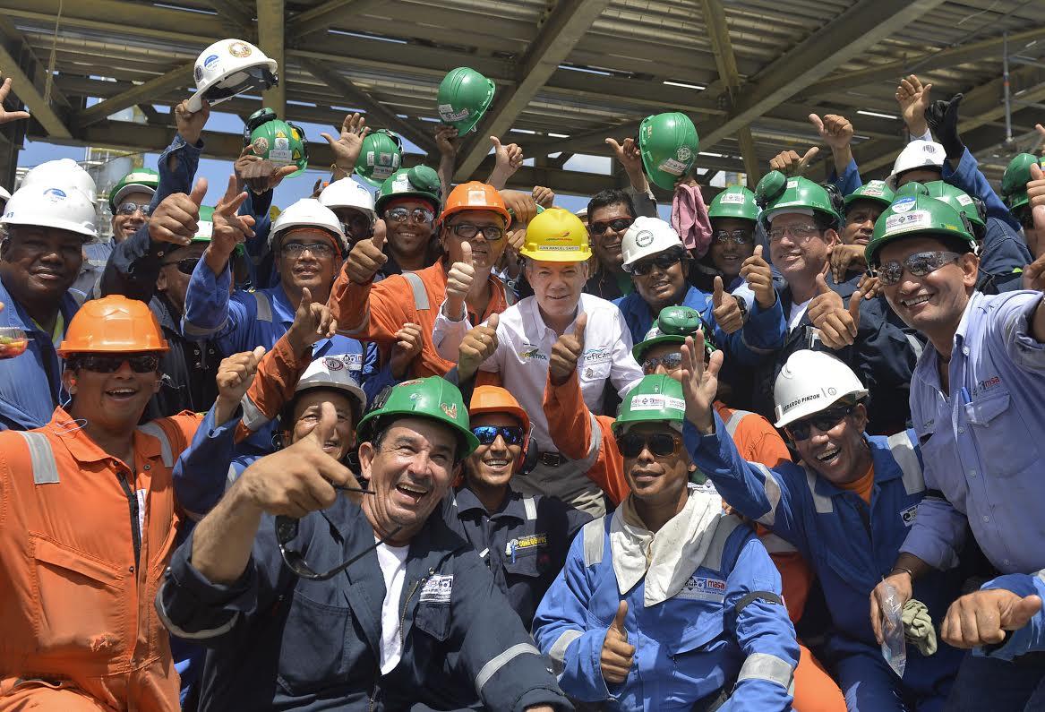 entrada en operación de la Refinería de Cartagena4
