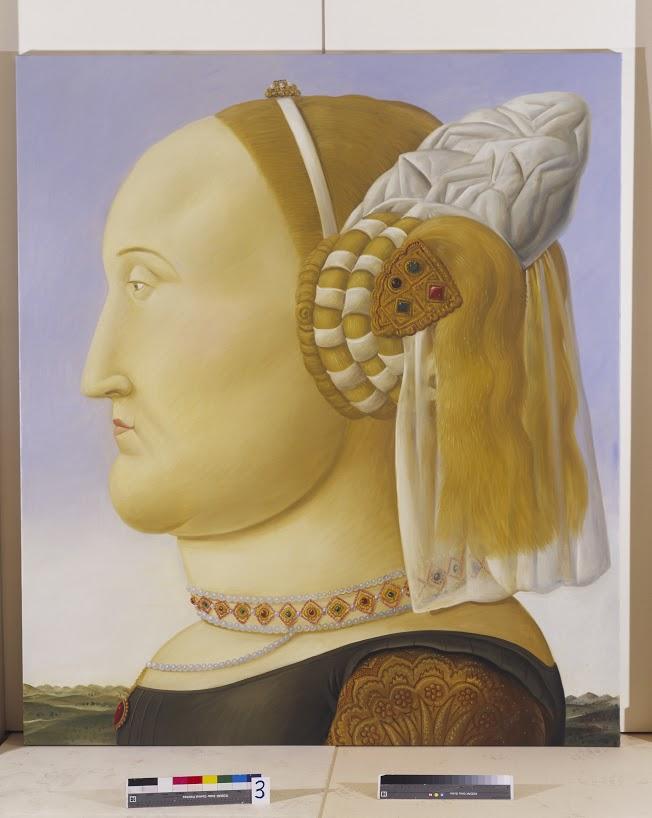 After Piero Della Francesca 1998 Oleo sobre Tela