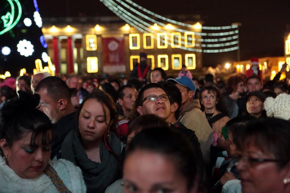 Alcalde Mayor enciende la navidad en Bogotá3