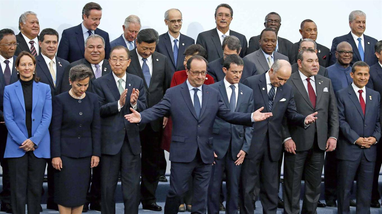 Más de 150 mandatarios se reúnen en la COP21.
