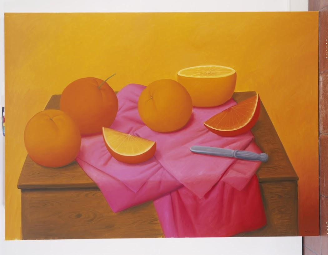 Oranges 2008 oleo sobre tela