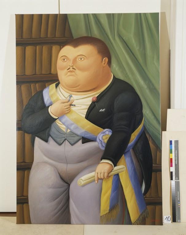 The President 1987 oleo sobre tela