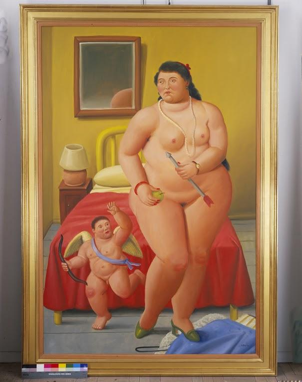 Venus and Cupid 2006 oleo sobre tela