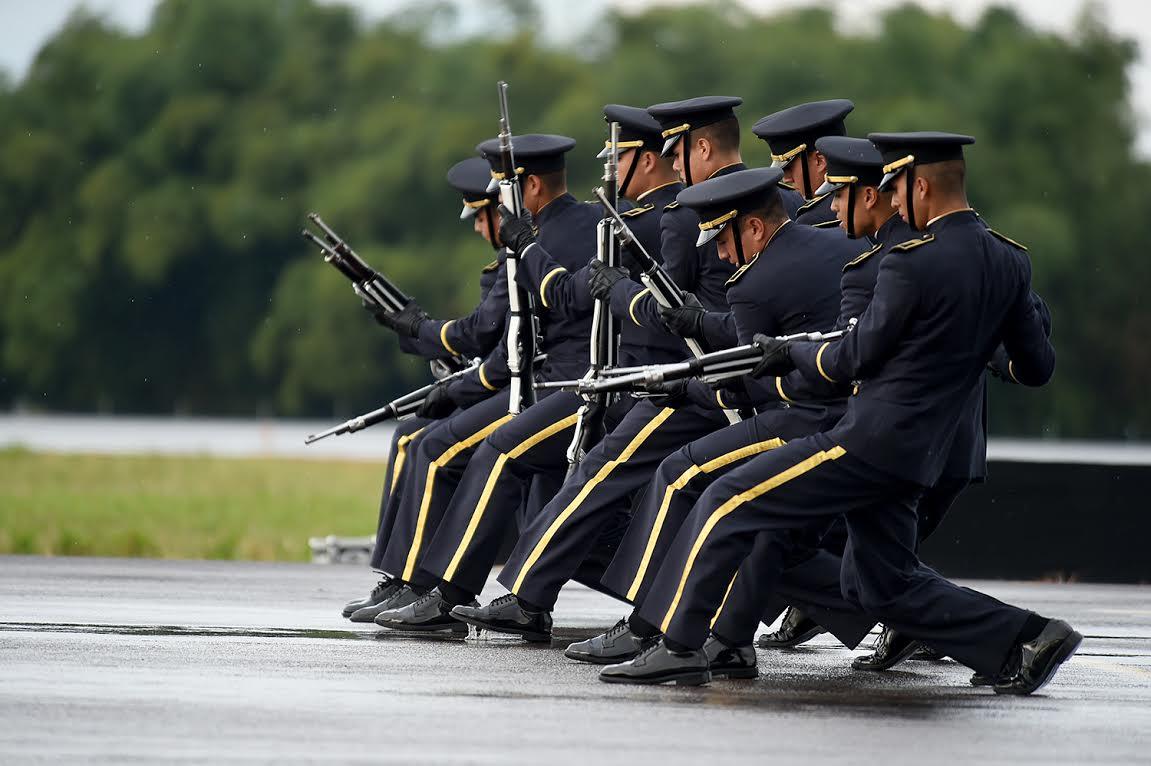 ceremonia de los 96 años de la Fuerza Aérea Colombiana.3