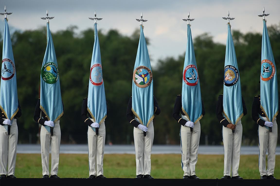 ceremonia de los 96 años de la Fuerza Aérea Colombiana.4