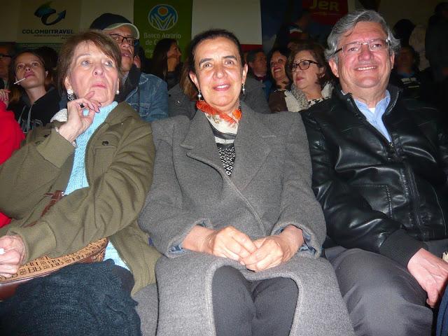 La crema y nata de la sociedad tunjana, maravillada con el repertorio del cantautor catalán.. Foto: La Pluma & La Herida