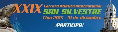 Carrera Atlética Internacional San Silvestre de Chía 2015