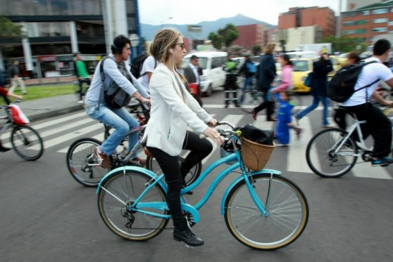 Dia sin carro en Bogota 061215