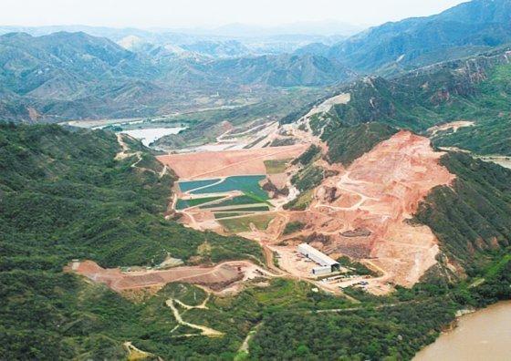 hidroeléctrica de El Quimbo
