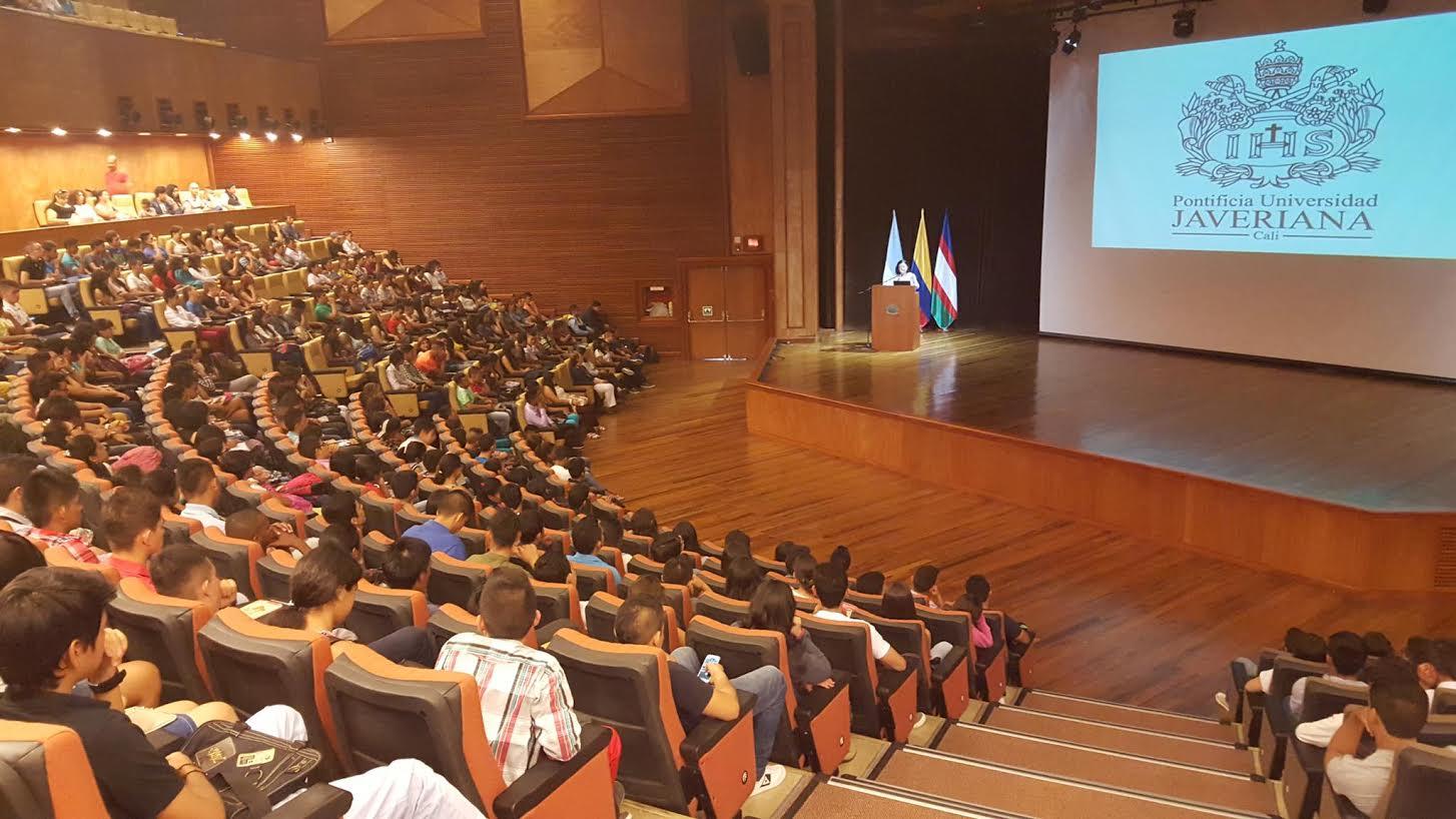 443 Becarios del gobierno nacional ingresan a la Pontificia Universidad Javeriana Cali 3