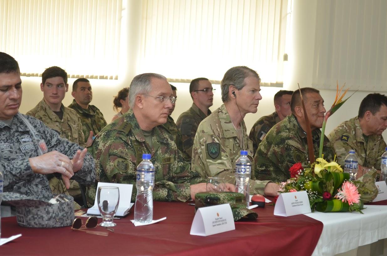Delegación de la OTAN es recibida en el Fuerte Militar de Tolemaida7