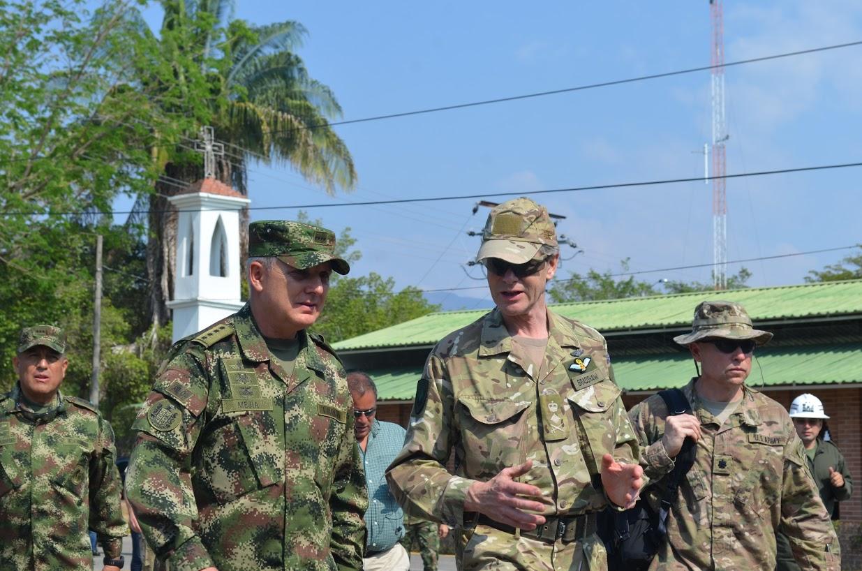 Delegación de la OTAN es recibida en el Fuerte Militar de Tolemaida9