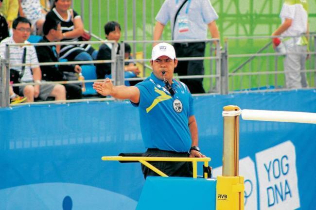 Juan Carlos Saavedra estará presente en Río 2016 como juez de Voley Playa.