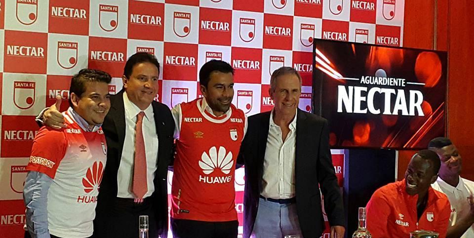 Néctar patrocinará oficialmente al Independiente Santa Fe