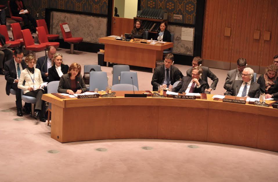 Rueda de prensa Canciller en ONU