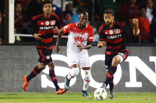 Santa Fe perdió 1-0 ante Bayer Leverkusen en la Florida Cup