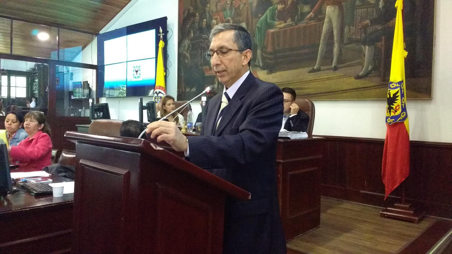 Concejal Jairo Cardozo Salazar