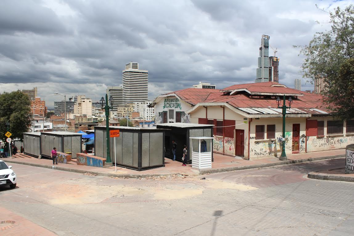 Plaza De La Concordia inicia restauración de la plaza distrital de mercado la