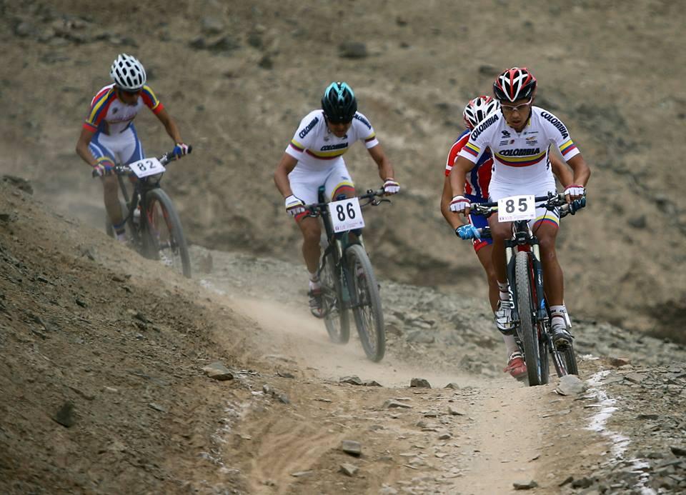 27 ciclistas colombianos participarán en el Panamericano de MTB.