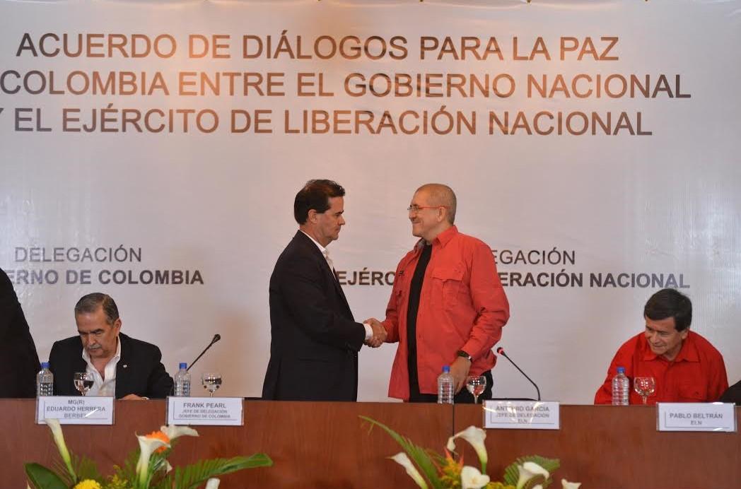 Acuerdo para la Paz de Colombia con el ELN