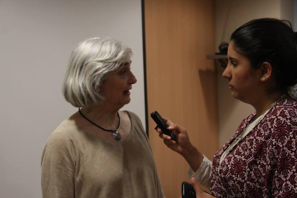 Carmina Salvatierra Campevila, profesora de la Universidad de Barcelona (España),