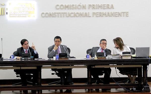 Comisión Primera aprobó el Acto legislativo para la paz