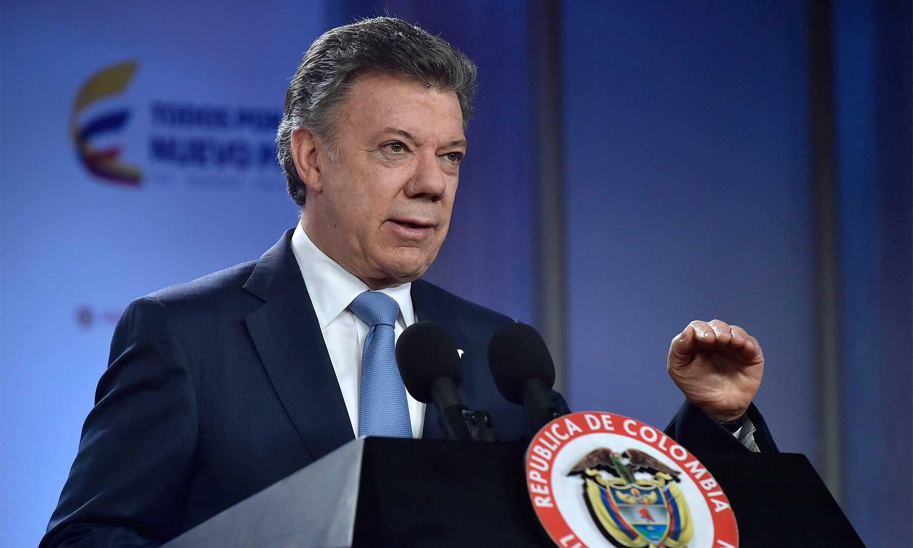 El Presidente Juan Manuel Santos anunció este lunes una cruzada por el ahorro de energía