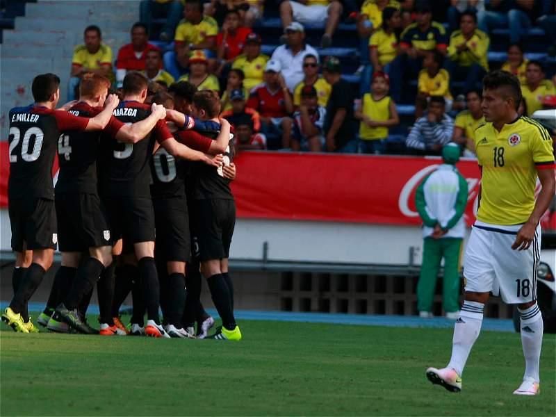 Empate 1-1 entre la Selección Colombia Sub-23 y Estados Unidos