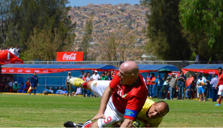 Gianni Infantino en Bolivia.9