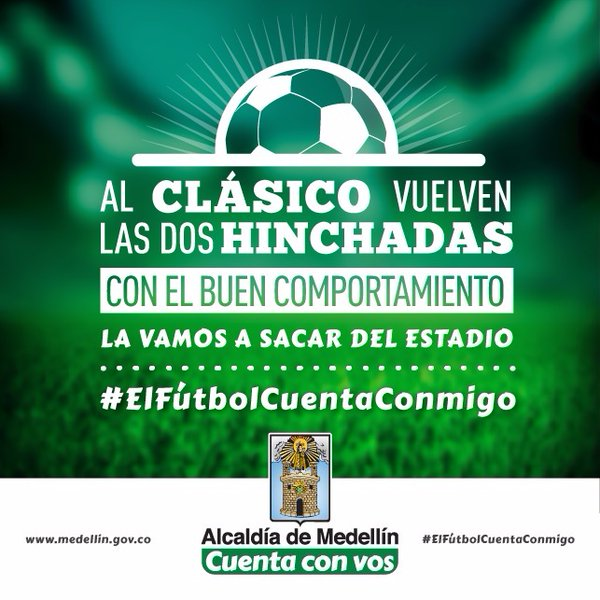 Hinchas de Medellin y Nacional vuelven al Atanasio